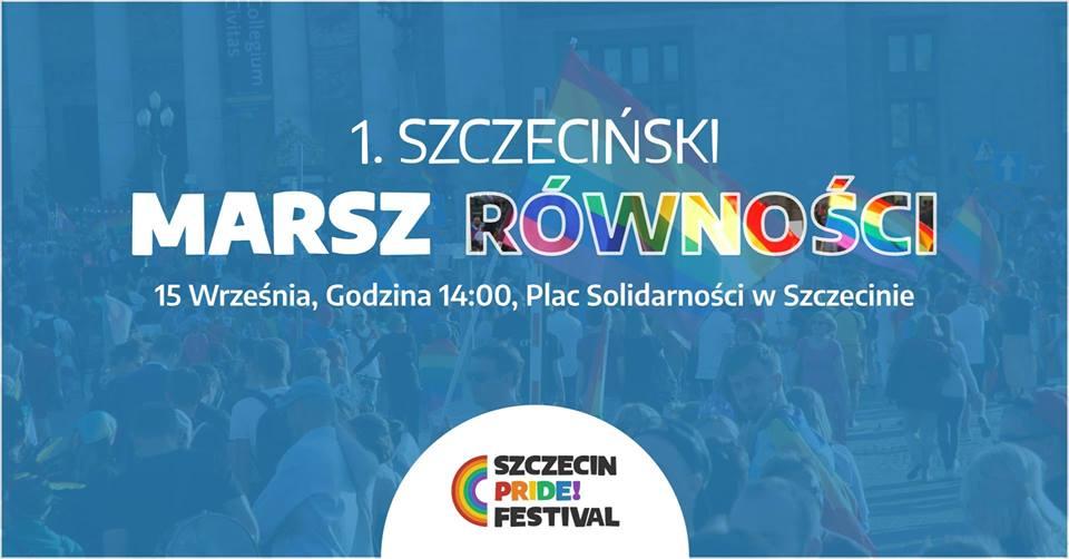Szczecin Pride Festival / 1. Marsz Równości w Szczecinie